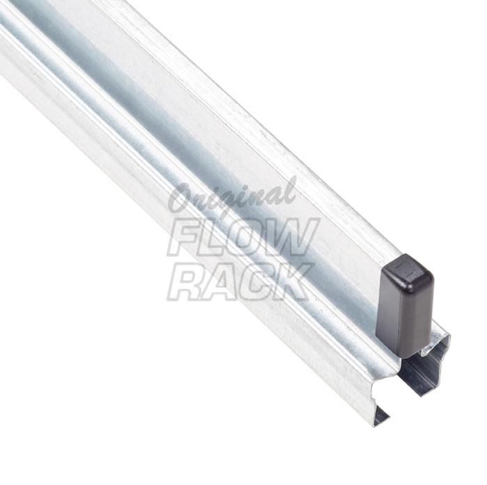 Guide strip for shelf depth 1230 mm